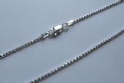18 Inch/46 cm 1.4mm Thick Sterling Silver Medium Popcorn Chain